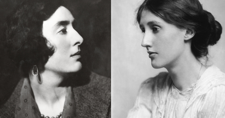 Vita Sackville-West et Virginia Woolf