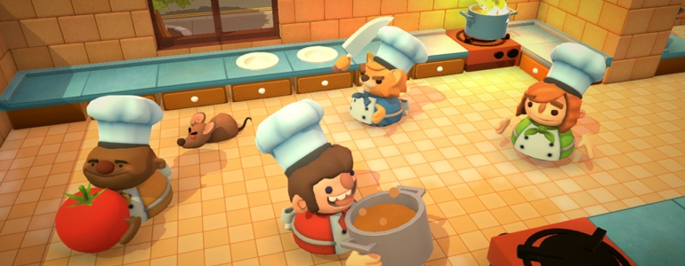 Overcooked - Ghost Town Games et Team17